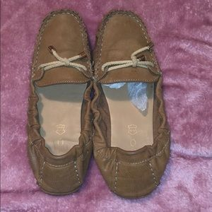 Aldo Genuine Leather Brown Flats